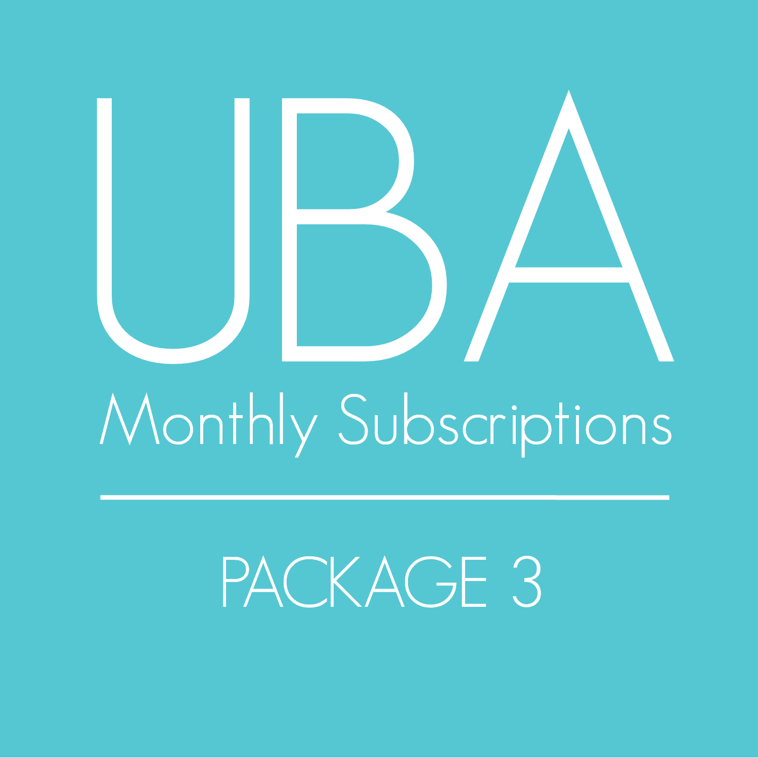 Monthly Subscription (Package 3)