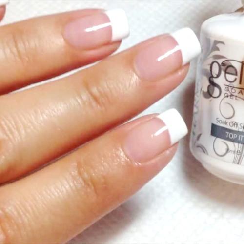 Gel Soak Off + Gel Manicure (45 min)